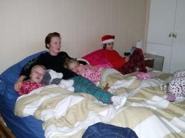Christmas snuggles with mama