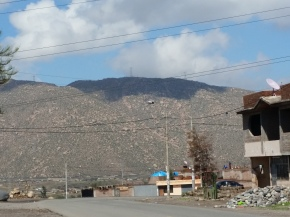 Serving on a 1 day medical campaign. This mountain view captivated me.